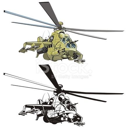 Helicóptero DE Dibujos Animados Vector Stock Vector - FreeImages.com