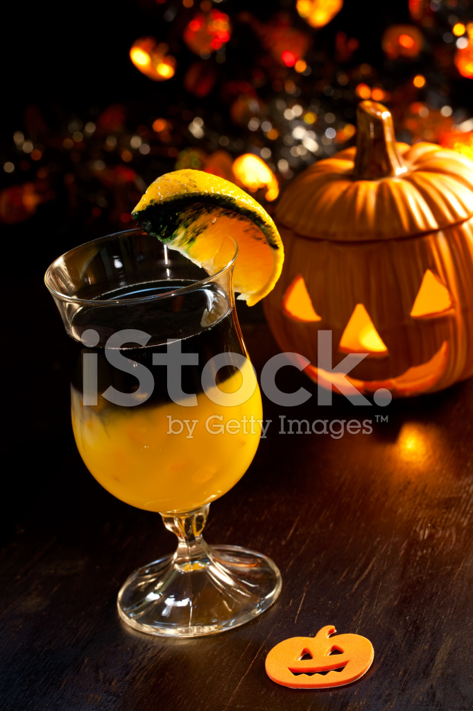 Halloween Getränke Rotten Pumpkin Cocktail Stockfotos - FreeImages.com