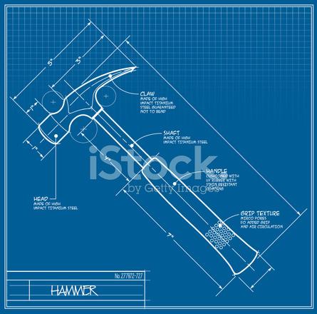 Plano del martillo stock vector freeimages plano del martillo malvernweather Gallery