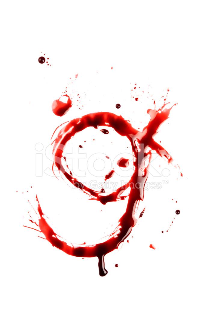 blood letter g wet lowercase
