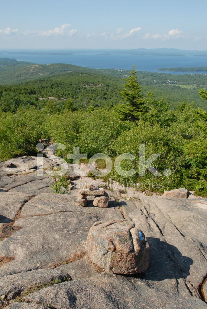 north ridge trail on cadillac mountain stock photos - freeimages