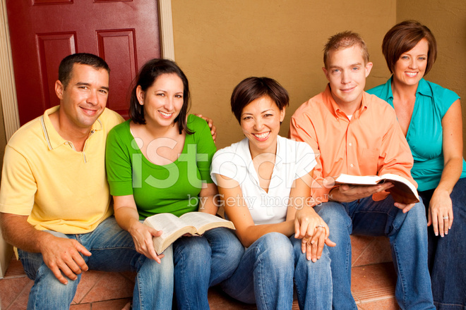 Diverse Group of Friends Reading Stock Photos - FreeImages.com