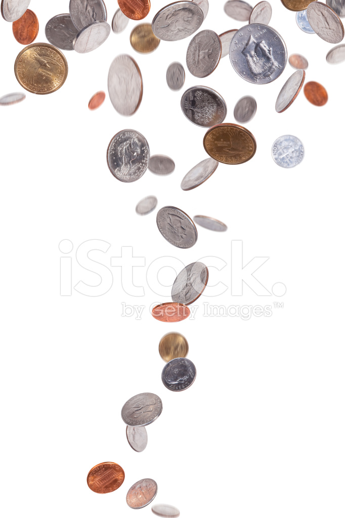 falling american coins stock photos freeimages com 100 pennies clipart penny clipart with cross