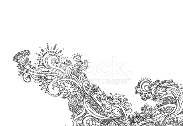 New Line Art Design : Line art design stock vector freeimages