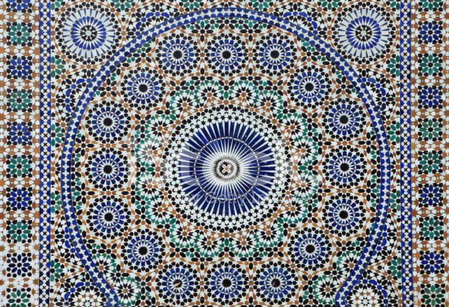 Piastrelle marocchine fotografie stock freeimages.com