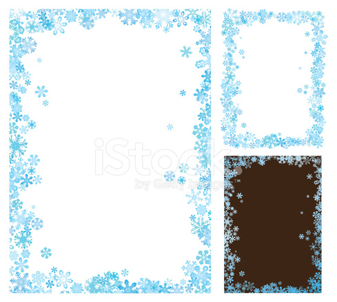 Winter Frame Stock Vector Freeimages Com