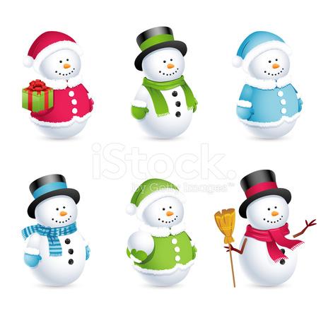 Snowman Icons stock photos - FreeImages.com