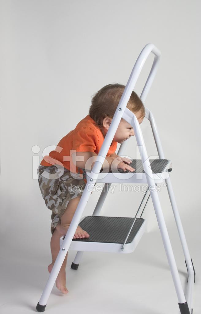 Boy On Ladder Stock Photos Freeimages Com