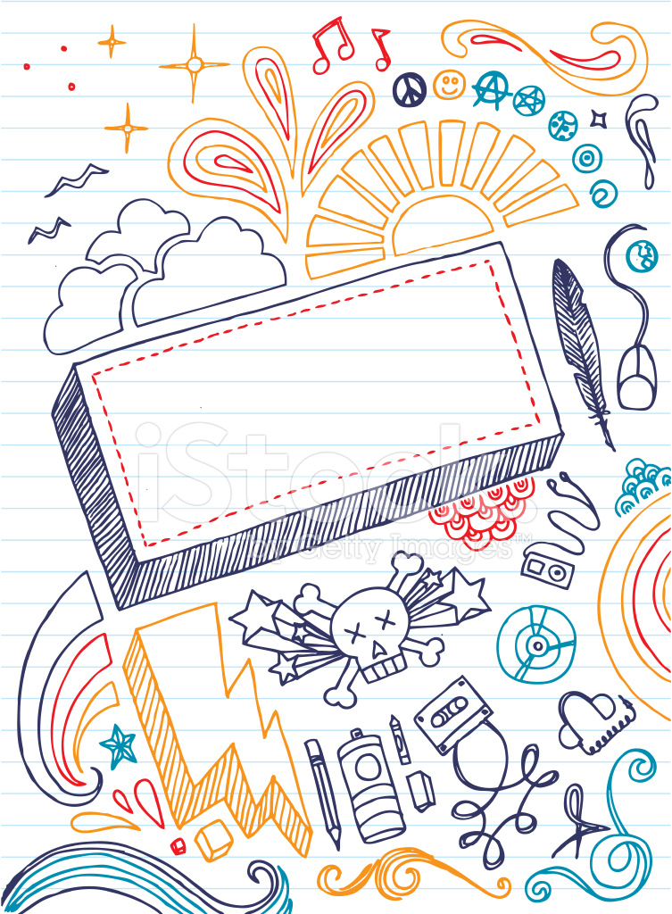 Notebook Doodles stock photos - FreeImages.com