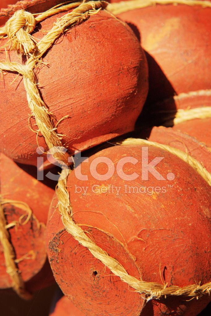 Clay Pot Terracotta Home Decor Stock Photos