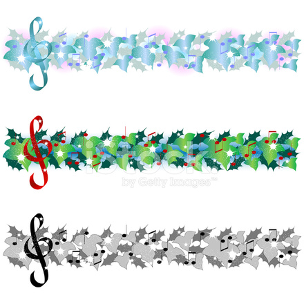 Frosted Christmas Garland