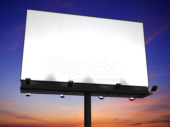 Big billboard with blank space stock photos freeimages big billboard with blank space stopboris Images