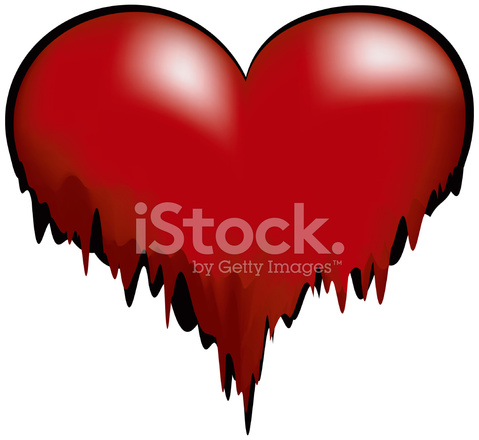 Melting Heart Vector Stock Vector - FreeImages.com