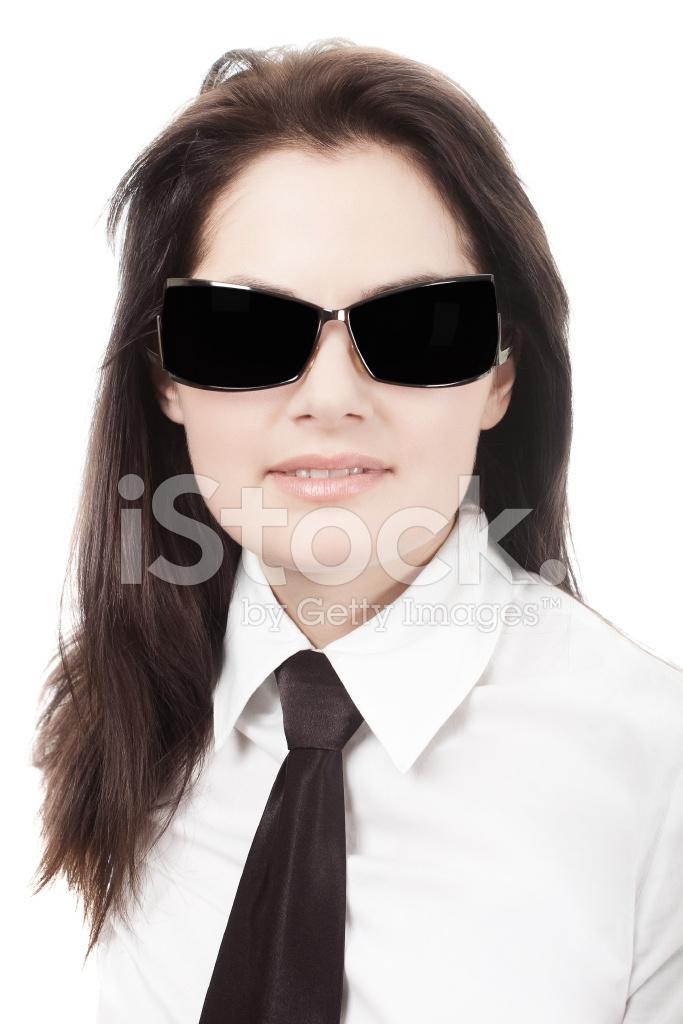 Femme En Cravate femme en cravate noire et lunettes de soleil photos - freeimages