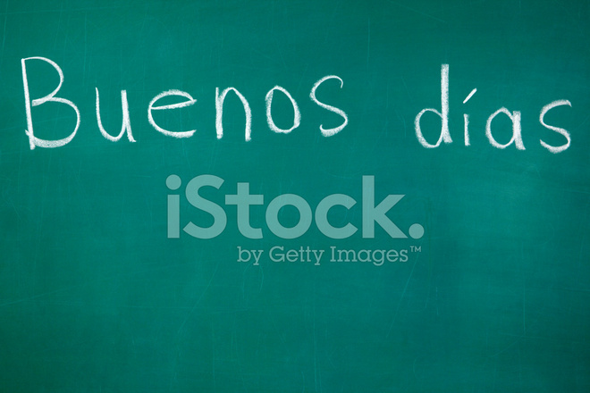 Good Morning In Spanish Is What : Good morning in spanish language stock photos freeimages