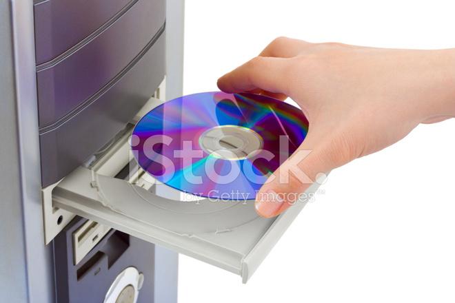 Mano Y Computadora CD Rom Fotografías de stock - FreeImages.com