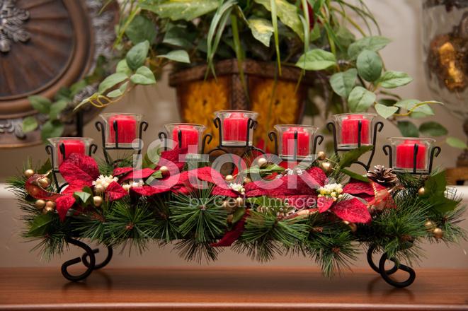 Premium Stock Photo Of Weihnachten Kerze Herzstück