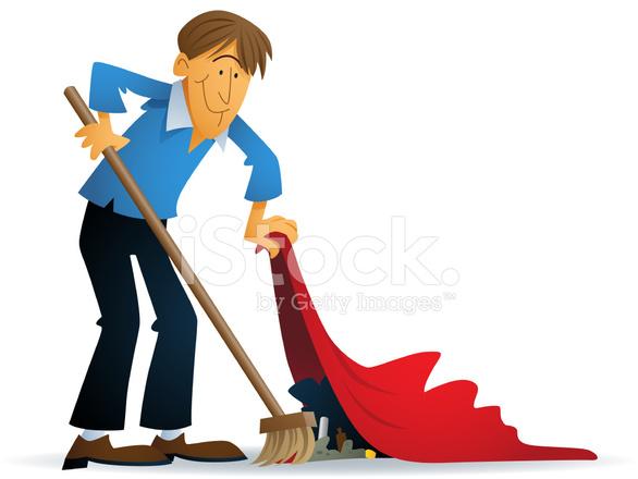 Sweep It Under The Carpet Stock Photos Freeimages Com