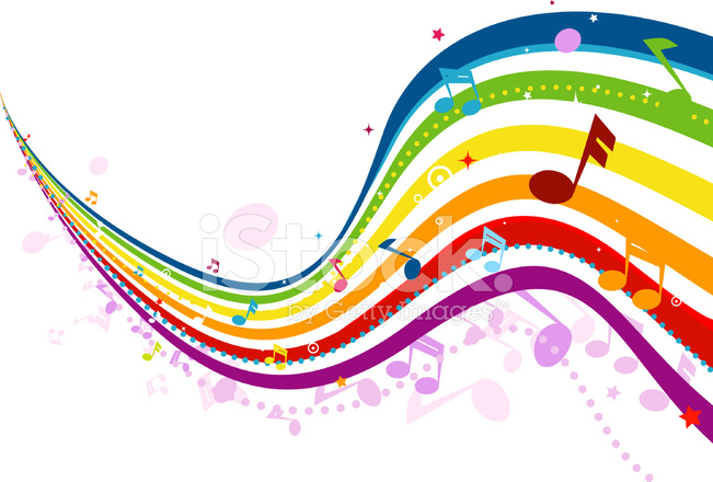 Musical Wave Stock Vector FreeImagescom