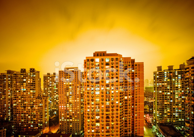 万家灯火的城市 照片素材 - freeimages.com