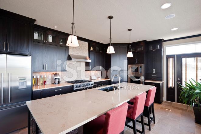 Moderne Küche MIT Insel Stockfotos - FreeImages.com