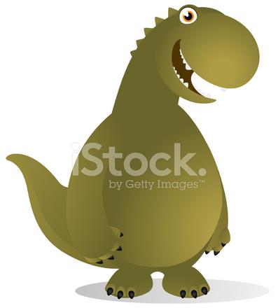 Dibujos Animados De Dinosaurio T Rex Stock Vector Freeimagescom