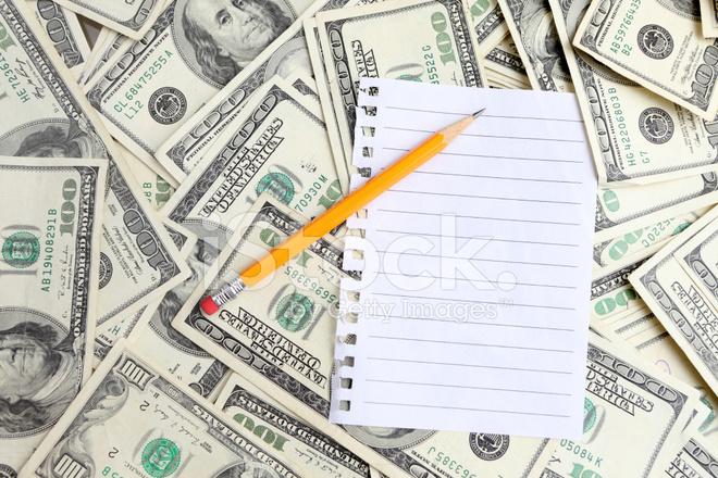 100 Dollar Bill Pencil Drawing