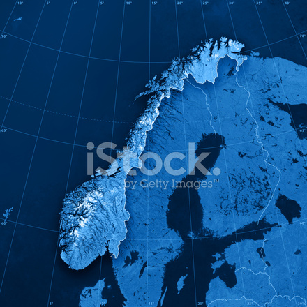 Topographic Map Of Norway.Norway Topographic Map Stock Photos Freeimages Com