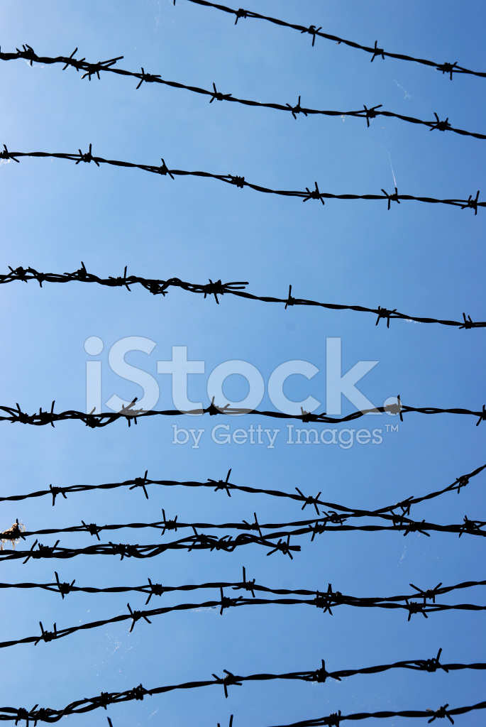Barbed Wire Silhouette Stock Photos - FreeImages.com