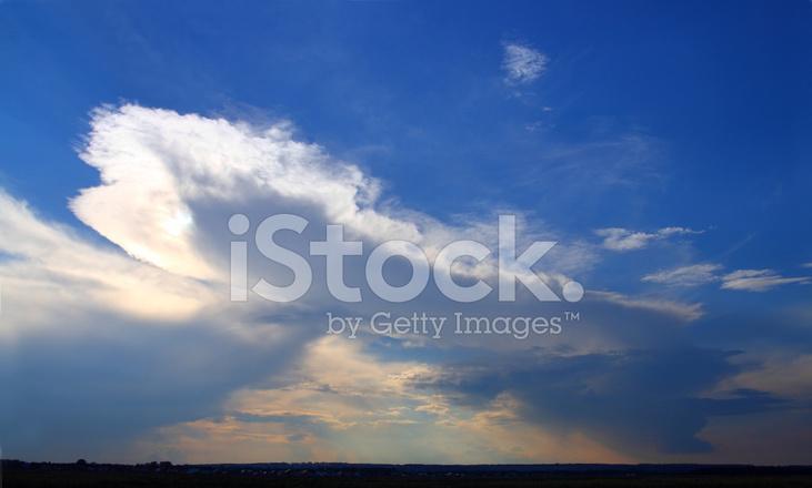 Raining Clouds on Horizon stock photos - FreeImages.com