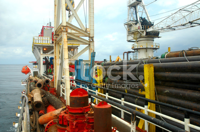 Offshore Tender Assisted Drilling Rig Stock Photos - FreeImages com
