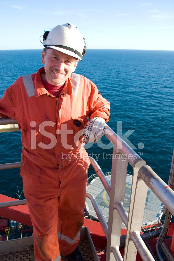 Man On Oil Rig Stock Photos Freeimages Com