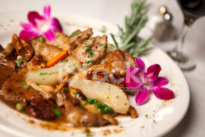 Fine Dining Food Stock Photos