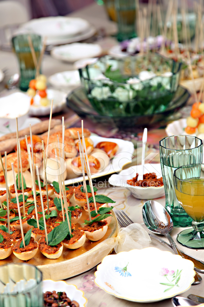 Snack Table Stock Photos Freeimages Com