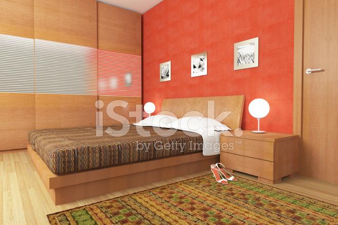 Camera Da Letto Legno Moderna : Moderna camera da letto legno fotografie stock freeimages.com