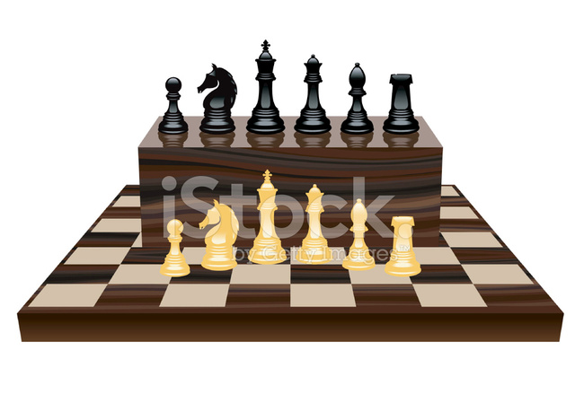 Chess Set Stock Vector