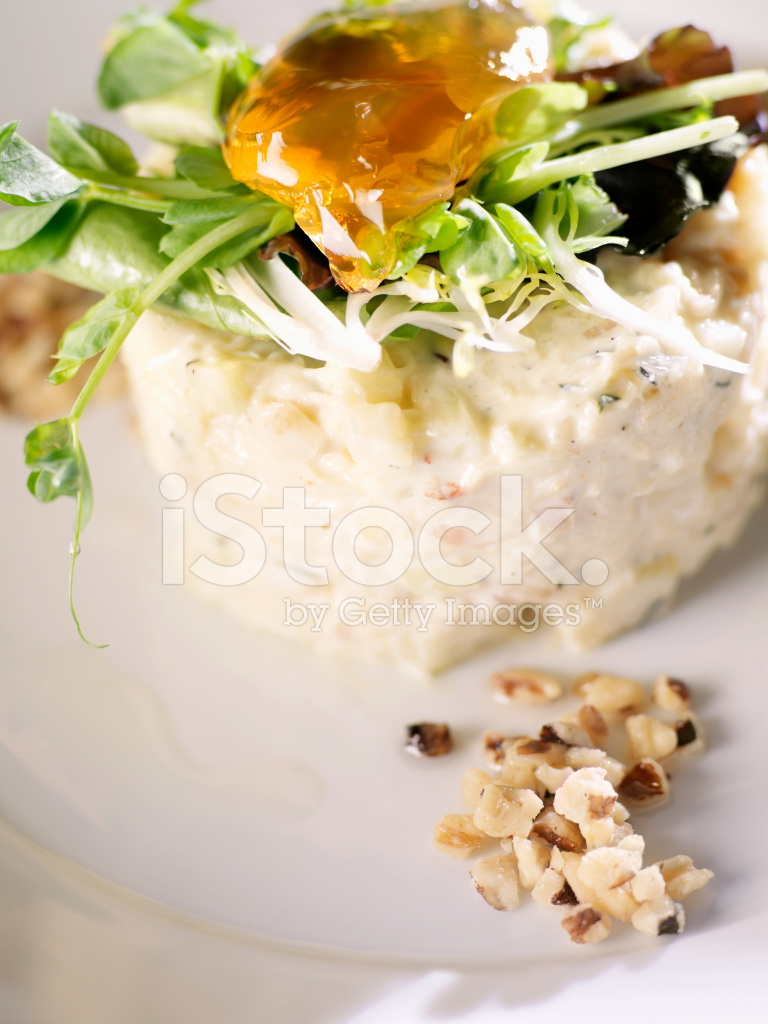 Dungeness Yengeç Waldorf Salatası Stok Fotoğrafları Freeimagescom