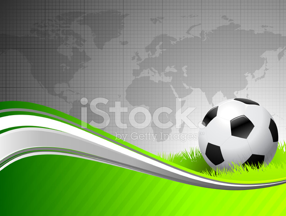 Soccer ball on abstract green background with world map stock vector premium stock photo of soccer ball on abstract green background with world map gumiabroncs Gallery