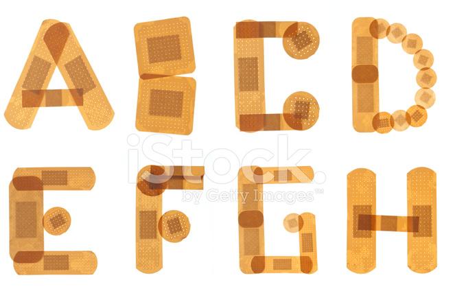 Band Hilfe Alphabet Stockfotos - FreeImages.com