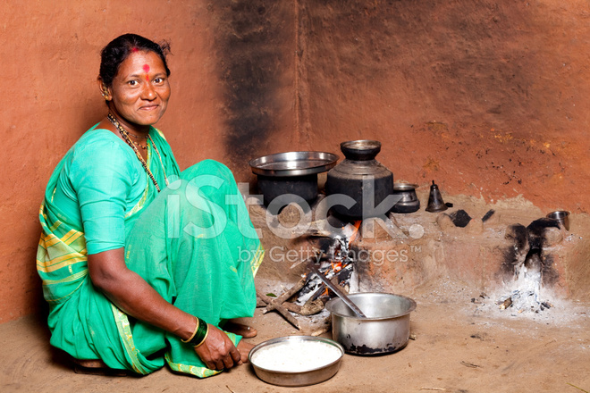 Village indian housewives