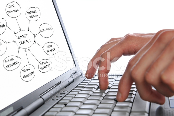 close up of man drawing marketing diagram on laptop screen stockclose up of man drawing marketing diagram on laptop screen
