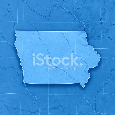 Iowa Topographic Map Stock Photos Freeimages Com
