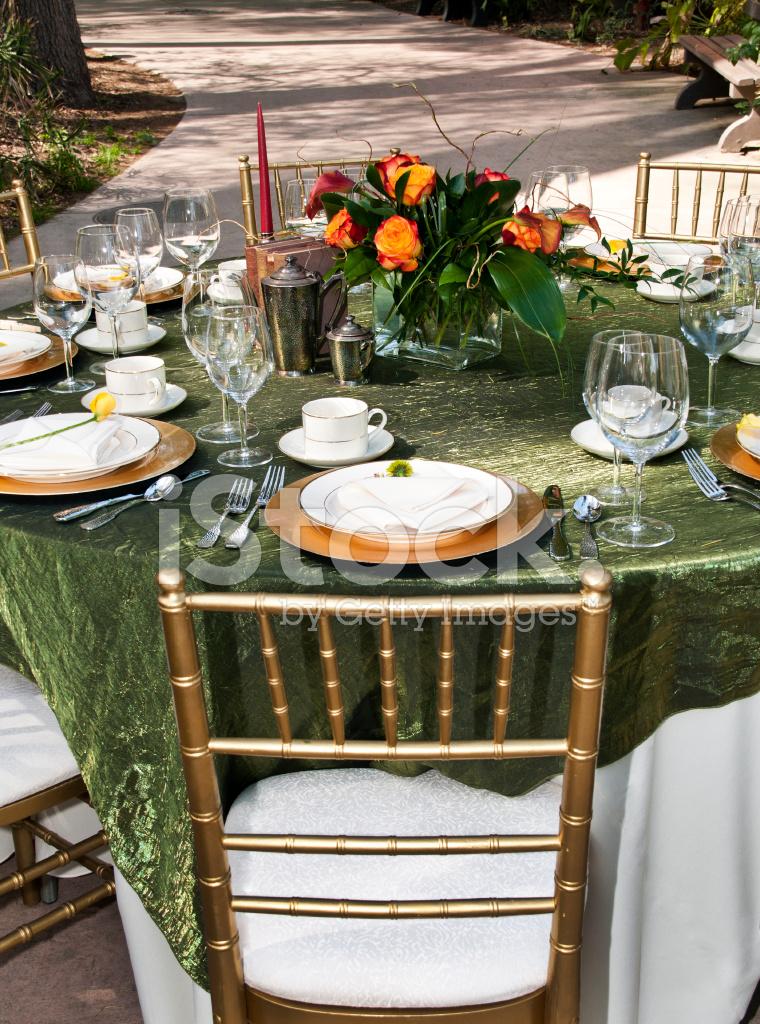 Garden Party Table Setting & Garden Party Table Setting Stock Photos - FreeImages.com