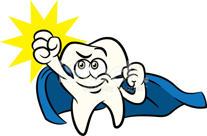 tooth cartoon mascot character as a superhero stock vector Free Medical Graphics Clip Art Funny Medical Clip Art Free