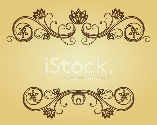 Cornice Floreale Stock Vector Freeimagescom