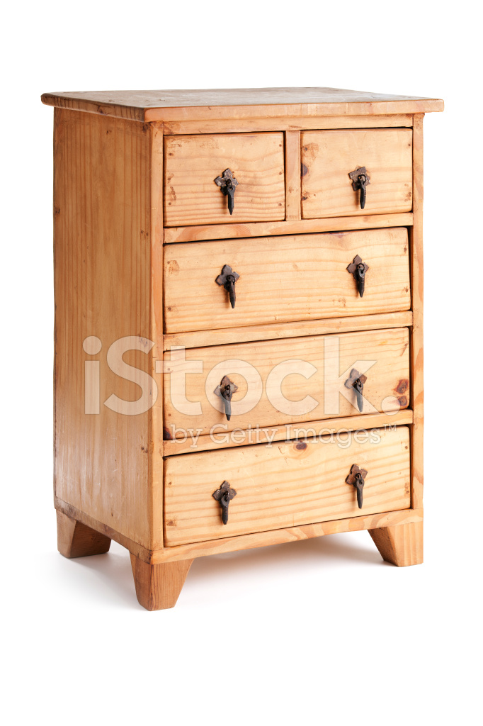 Wooden Dresser Cabinet Rustic Furniture With Drawers
