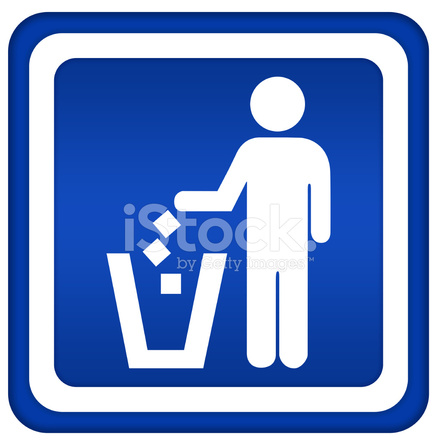 No Littering Sign Stock Vector Freeimages