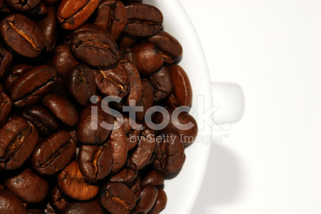 Coffee Cup Top Stock Photos