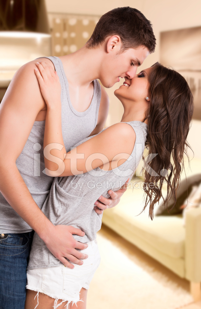 Lovely Couple Kissing Stock Photos FreeImages Extraordinary Lovely Couple Com