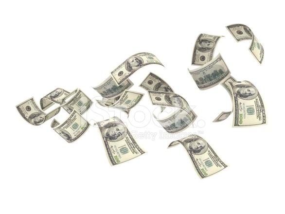 Flygande Pengar Stockfoton Freeimages Com